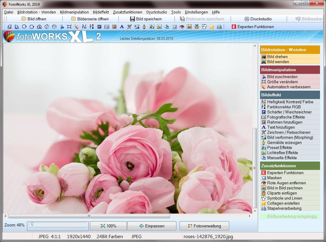 Bildbearbeitungsprogramm und Fotocollage erstellen